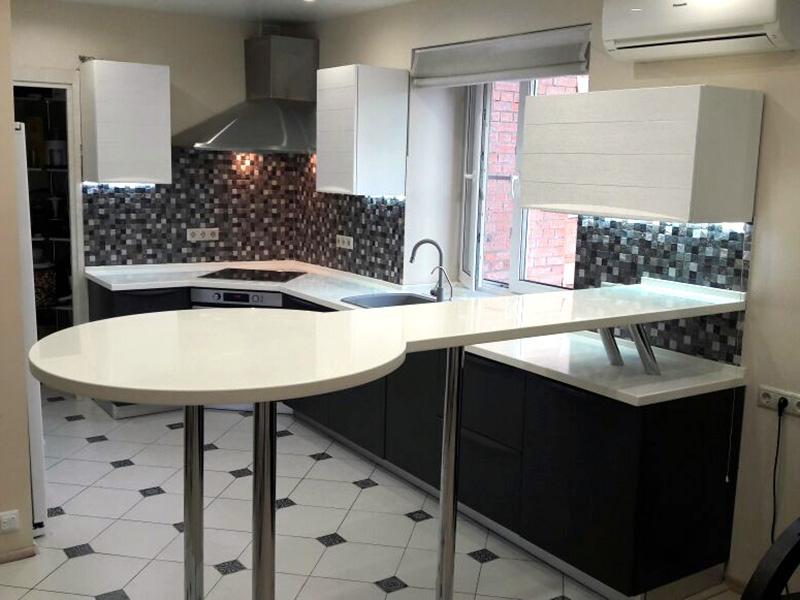 Проект кухни Вермонтв городе Красногорск,Подмосковный бульвар